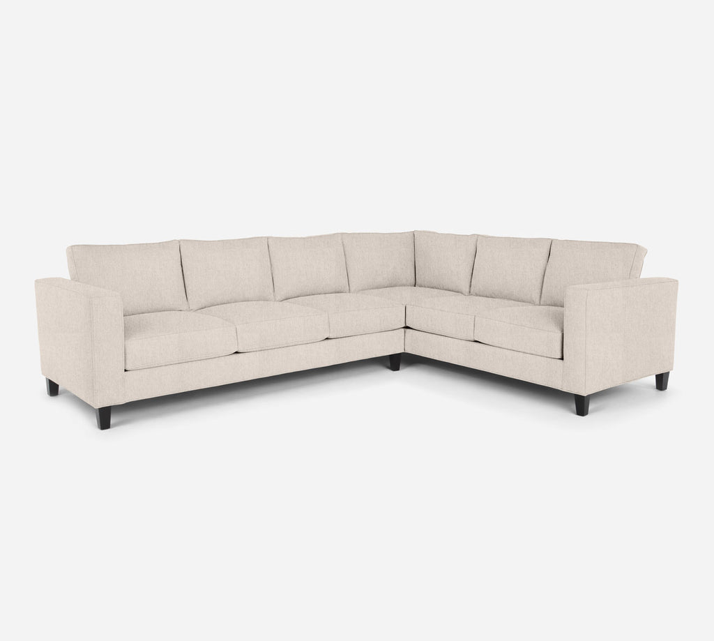 Remy LAF Large Corner Sectional - Kenley - Canvas