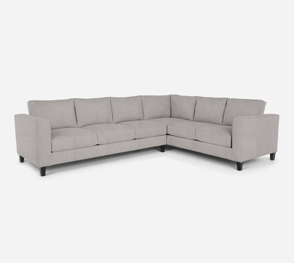 Remy LAF Large Corner Sectional - Kenley - Moondust