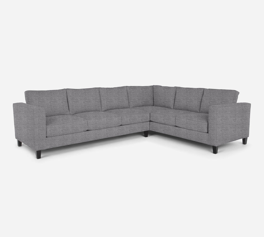 Remy LAF Large Corner Sectional - Stardust - Domino