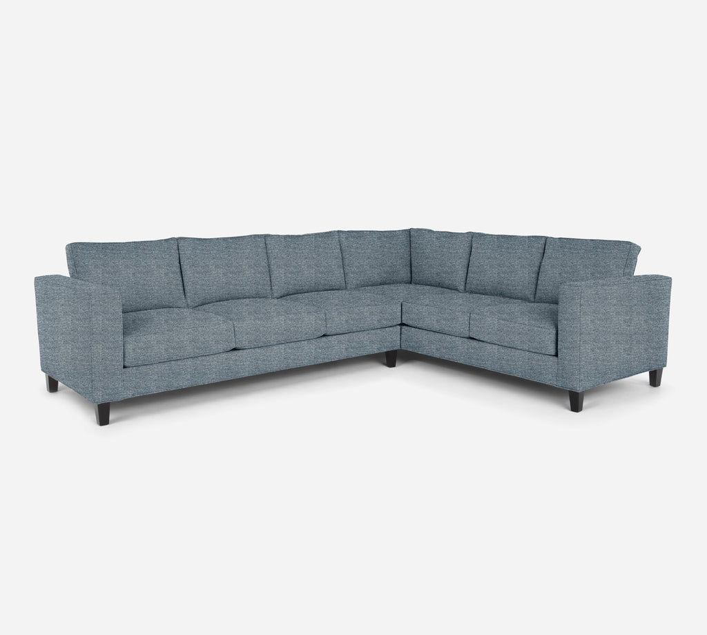 Remy LAF Large Corner Sectional - Stardust - Lapis