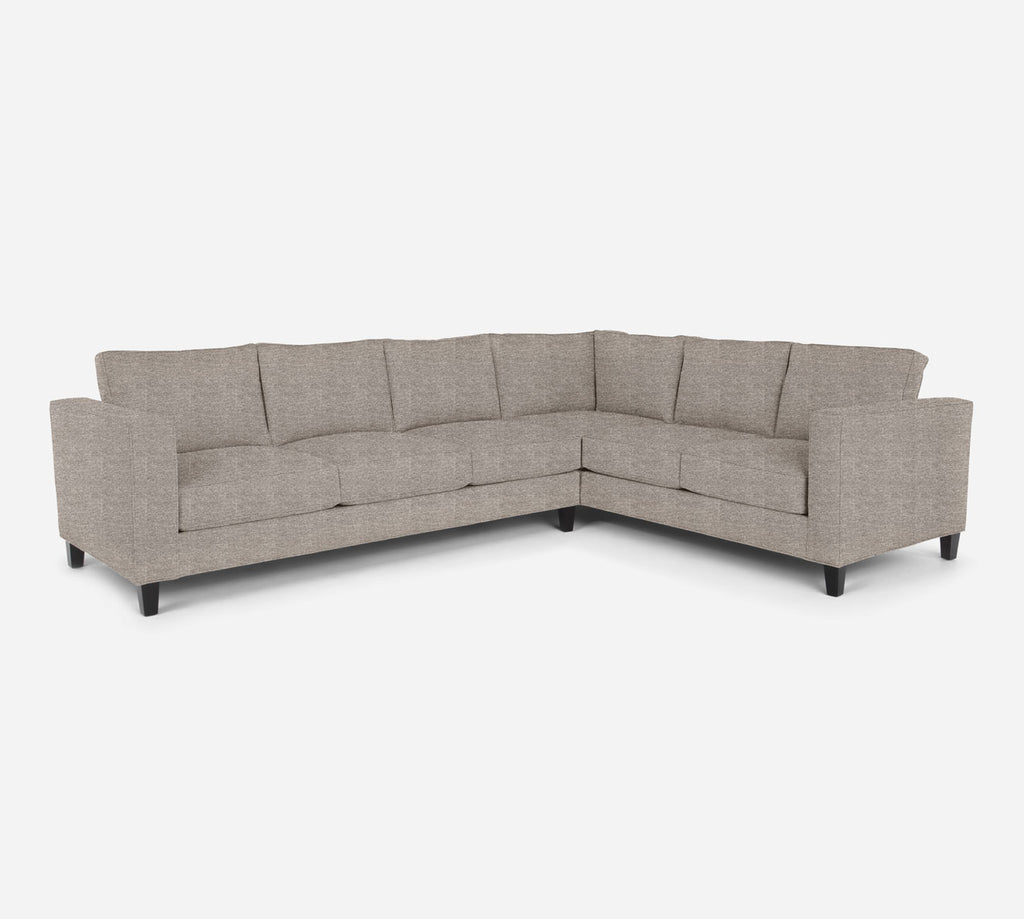 Remy LAF Large Corner Sectional - Stardust - Oatmeal