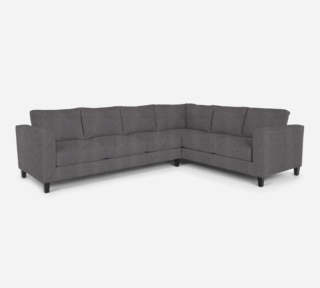 Remy LAF Large Corner Sectional - Theron - Concrete