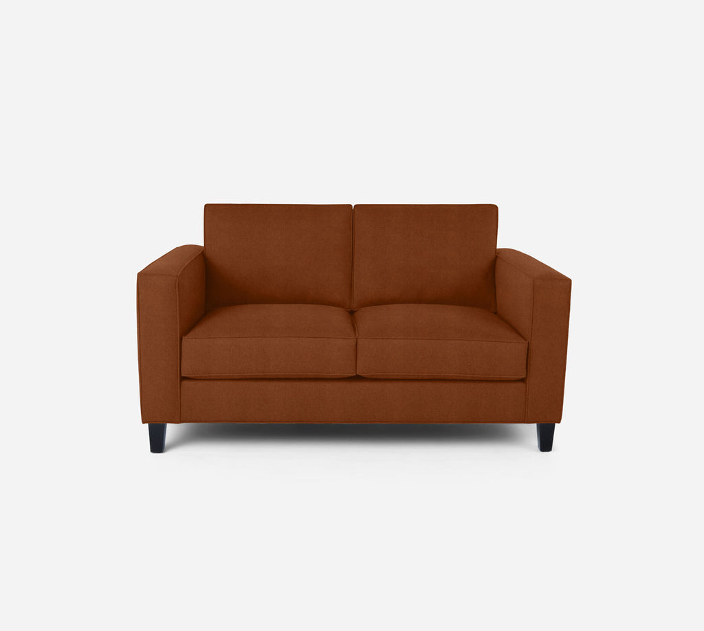 Remy Loveseat - Passion Suede - Rust