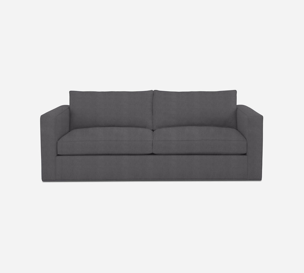 Remy 2 Seat Sleeper Sofa - Passion Suede - Charcoal