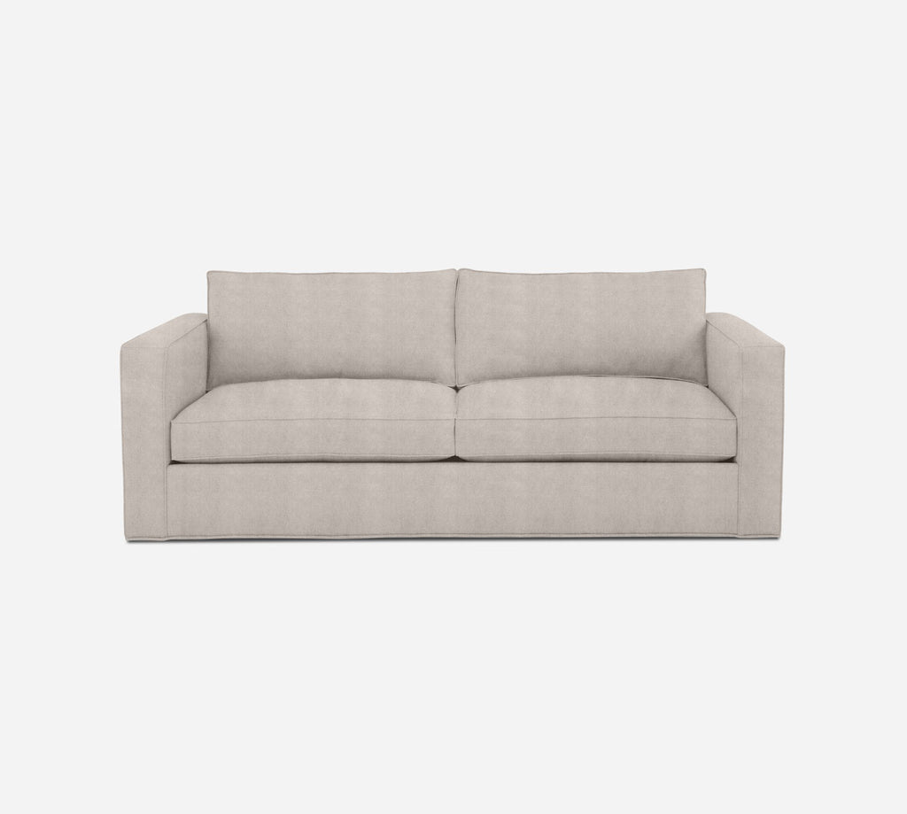 Remy 2 Seat Sleeper Sofa - Passion Suede - Oyster