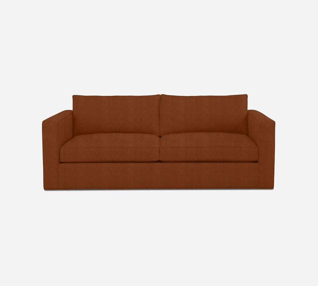 Remy 2 Seat Sleeper Sofa - Passion Suede - Rust
