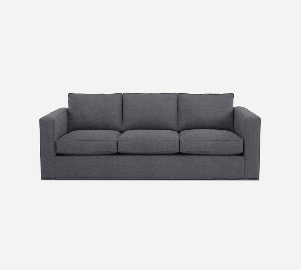 Remy 3 Seat Sleeper Sofa - Coastal - Steel