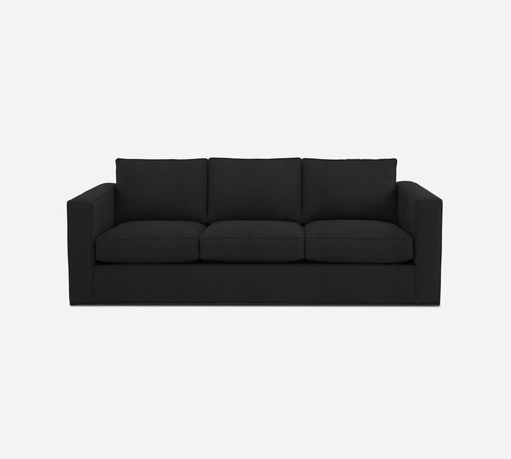 Remy 3 Seat Sleeper Sofa - Heritage - Charcoal