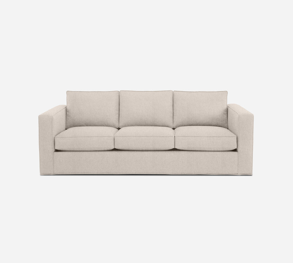 Remy 3 Seat Sleeper Sofa - Kenley - Canvas