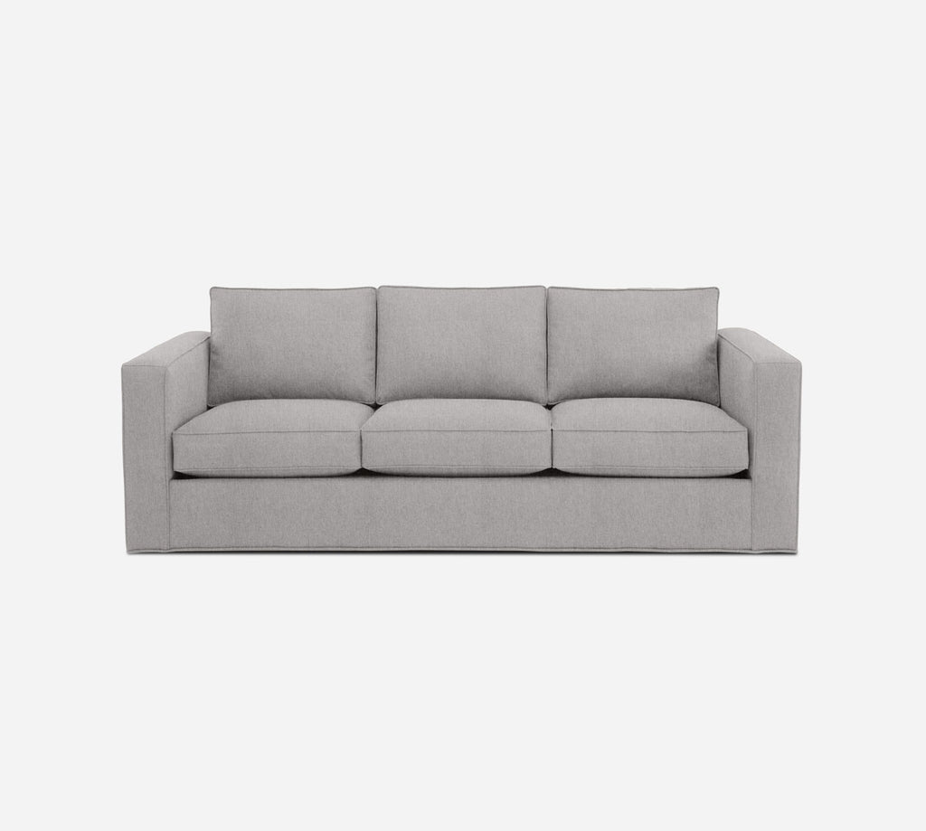 Remy 3 Seat Sleeper Sofa - Kenley - Moondust