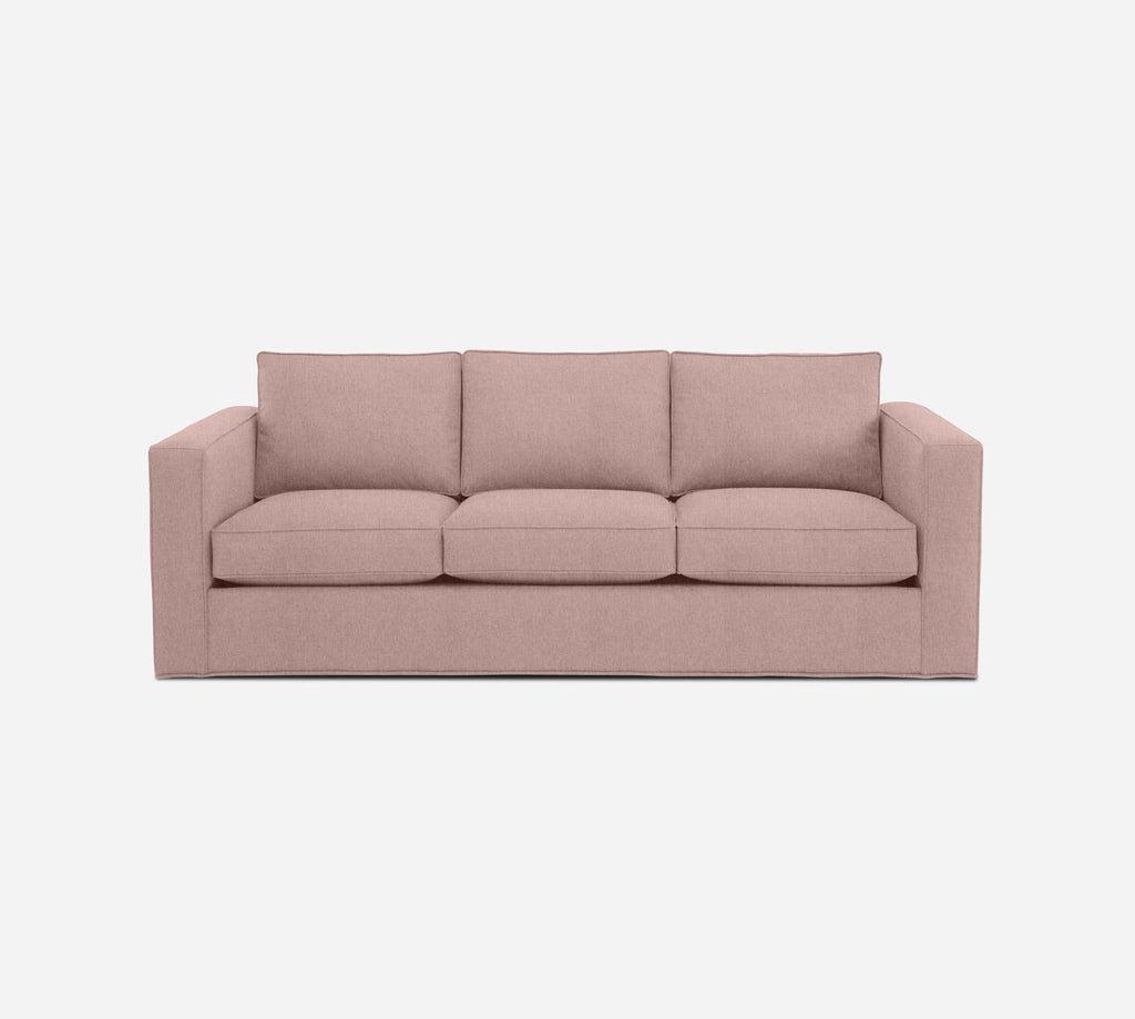 Remy 3 Seat Sleeper Sofa - Kenley - Quartz