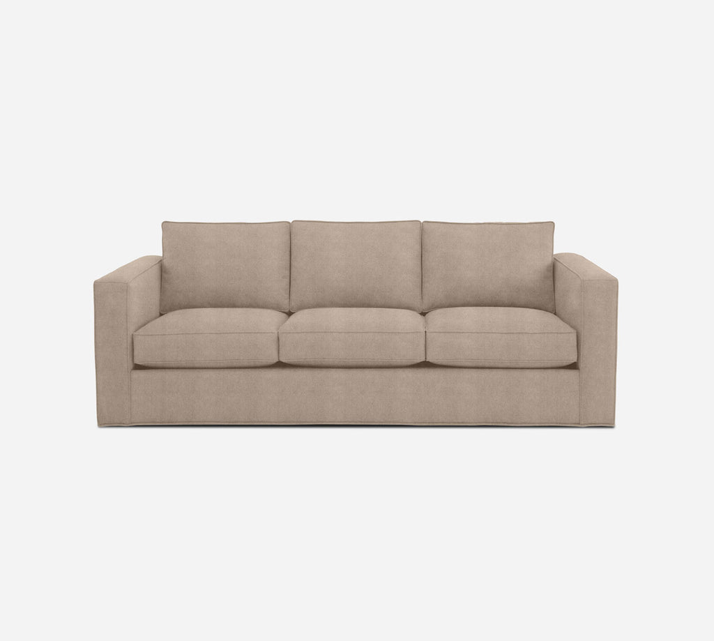 Remy 3 Seat Sleeper Sofa - Passion Suede - Camel