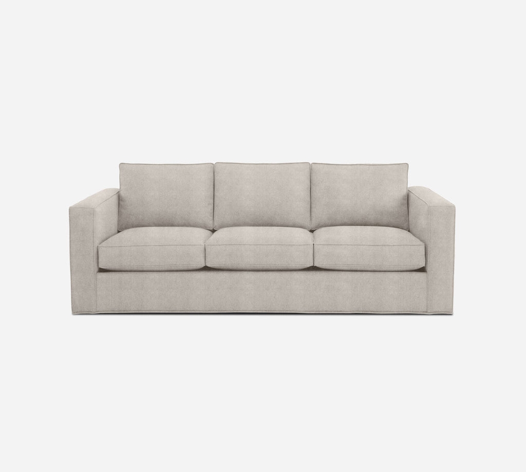Remy 3 Seat Sleeper Sofa - Passion Suede - Oyster