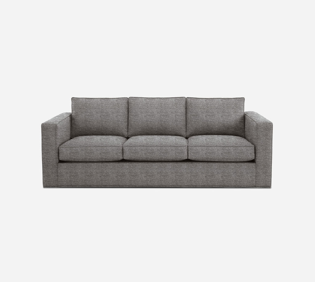 Remy 3 Seat Sleeper Sofa - Stardust - Fossil