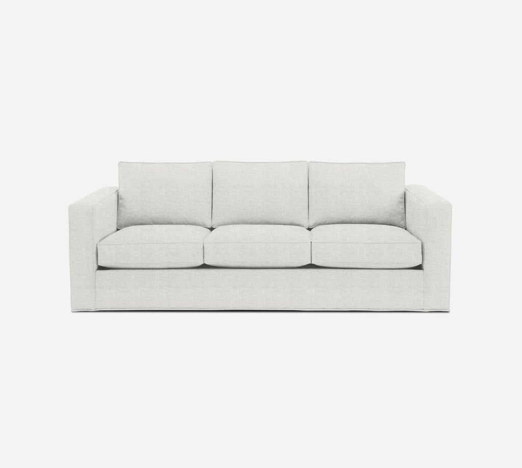 Remy 3 Seat Sleeper Sofa - Stardust - Ivory