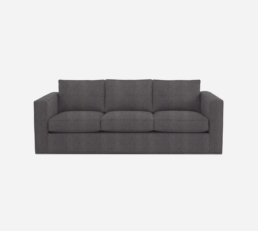 Remy 3 Seat Sleeper Sofa - Theron - Concrete