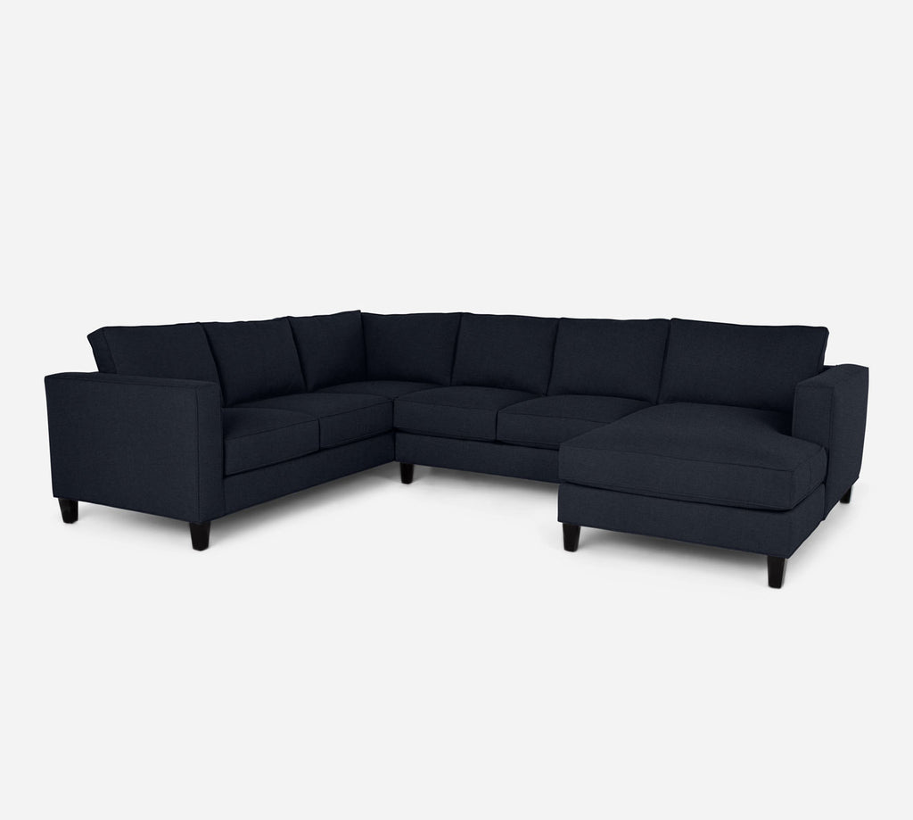 Remy RAF Chaise Corner Sectional - Coastal - Sailor