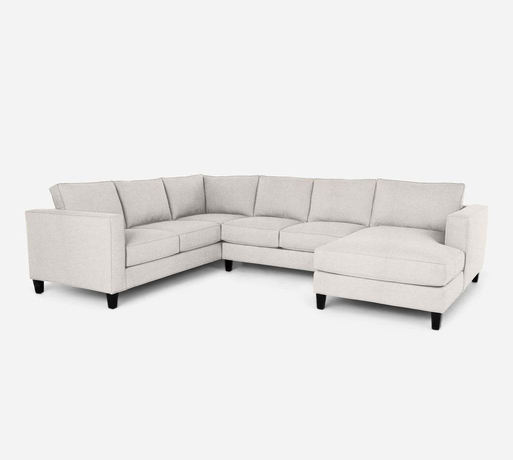 Remy RAF Chaise Corner Sectional - Heritage - Ivory