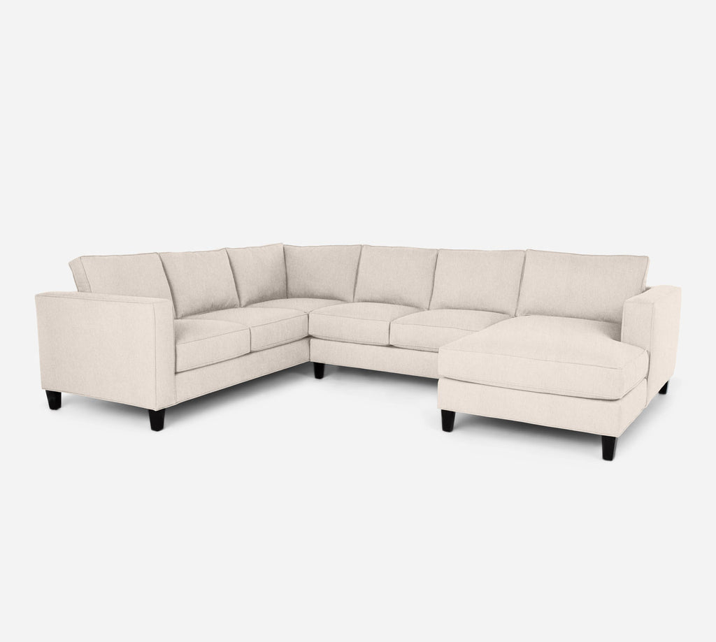 Remy RAF Chaise Corner Sectional - Kenley - Canvas