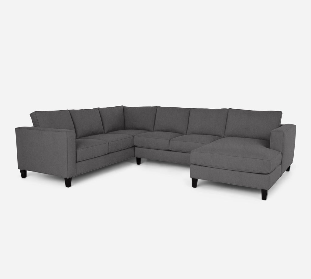 Remy RAF Chaise Corner Sectional - Kenley - Silversage