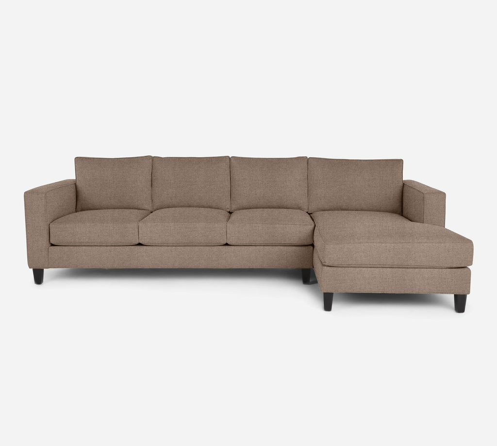 Remy RAF Chaise Sectional - Coastal - Cashew