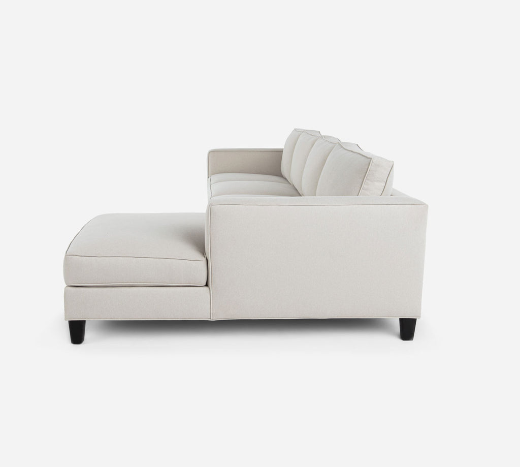 Remy RAF Chaise Sectional - Dawson - Oatmeal