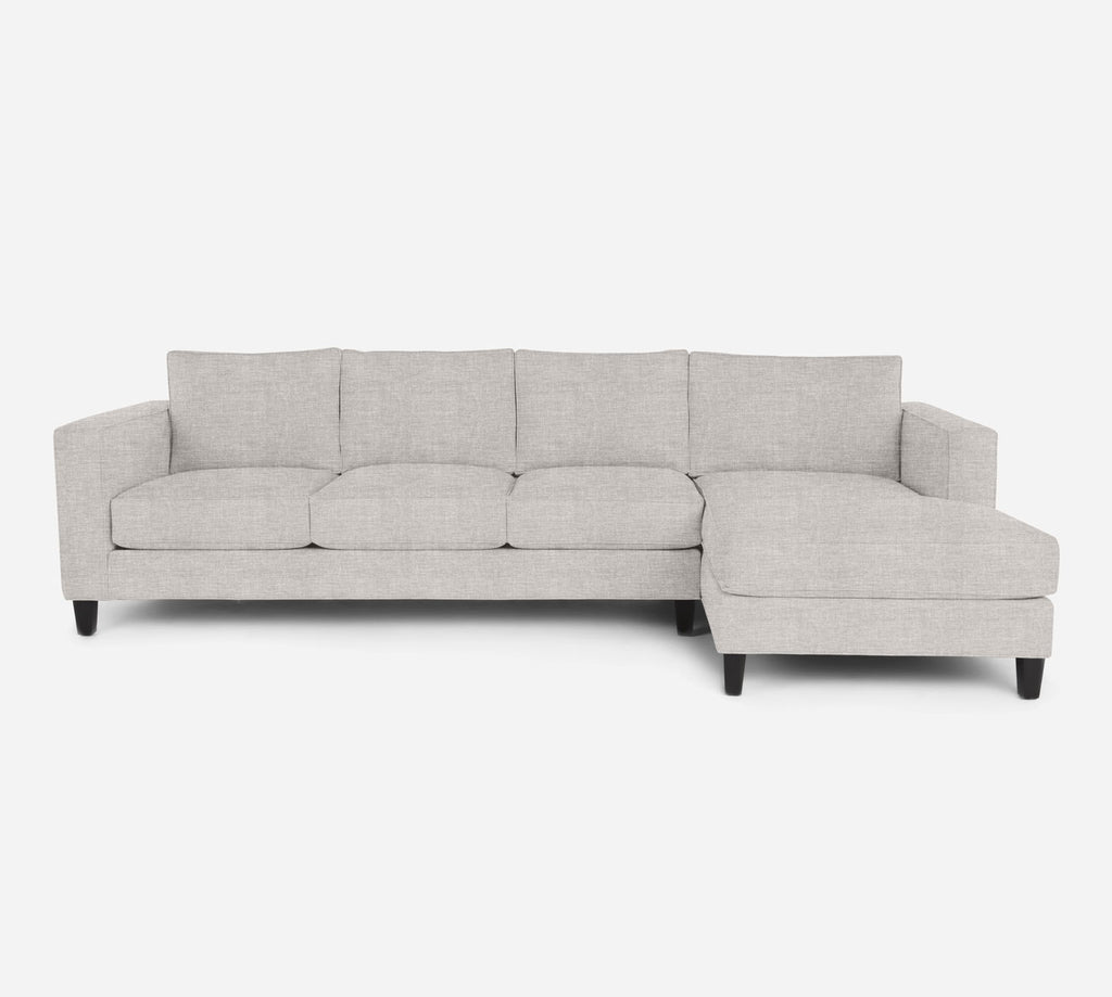 Remy RAF Chaise Sectional - Key Largo - Oatmeal