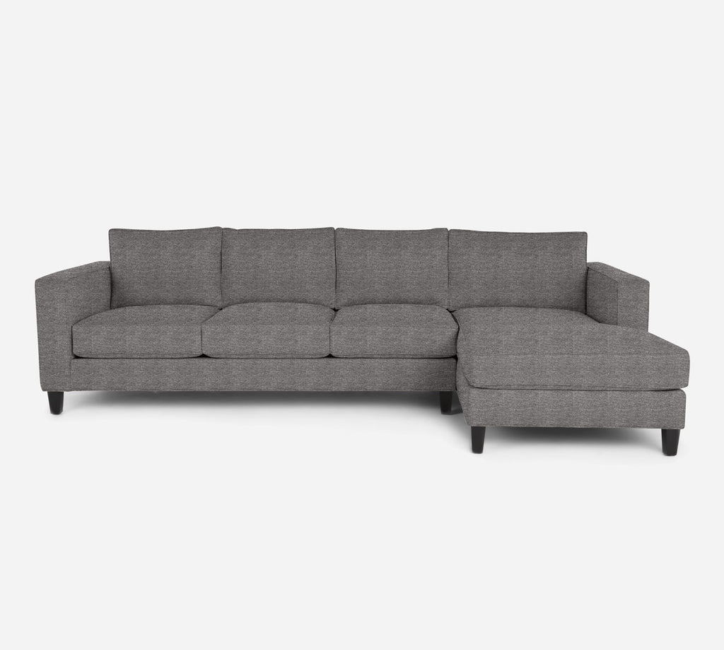 Remy RAF Chaise Sectional - Stardust - Fossil