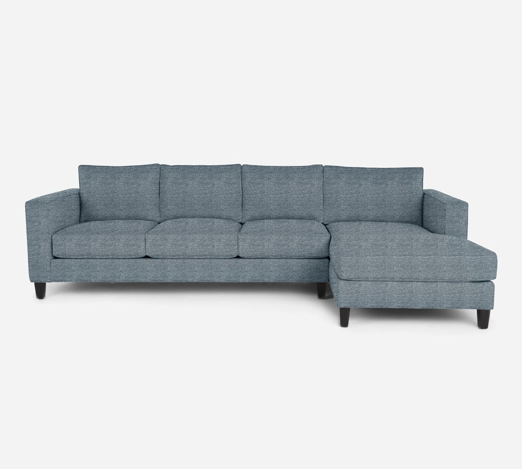 Remy RAF Chaise Sectional - Stardust - Lapis