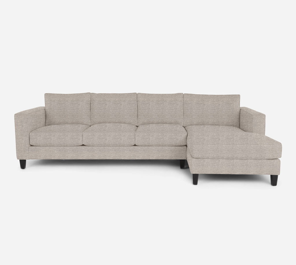 Remy RAF Chaise Sectional - Stardust - Oatmeal