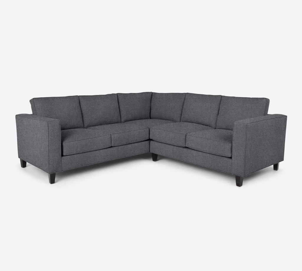 Remy RAF Corner Sectional - Coastal - Steel