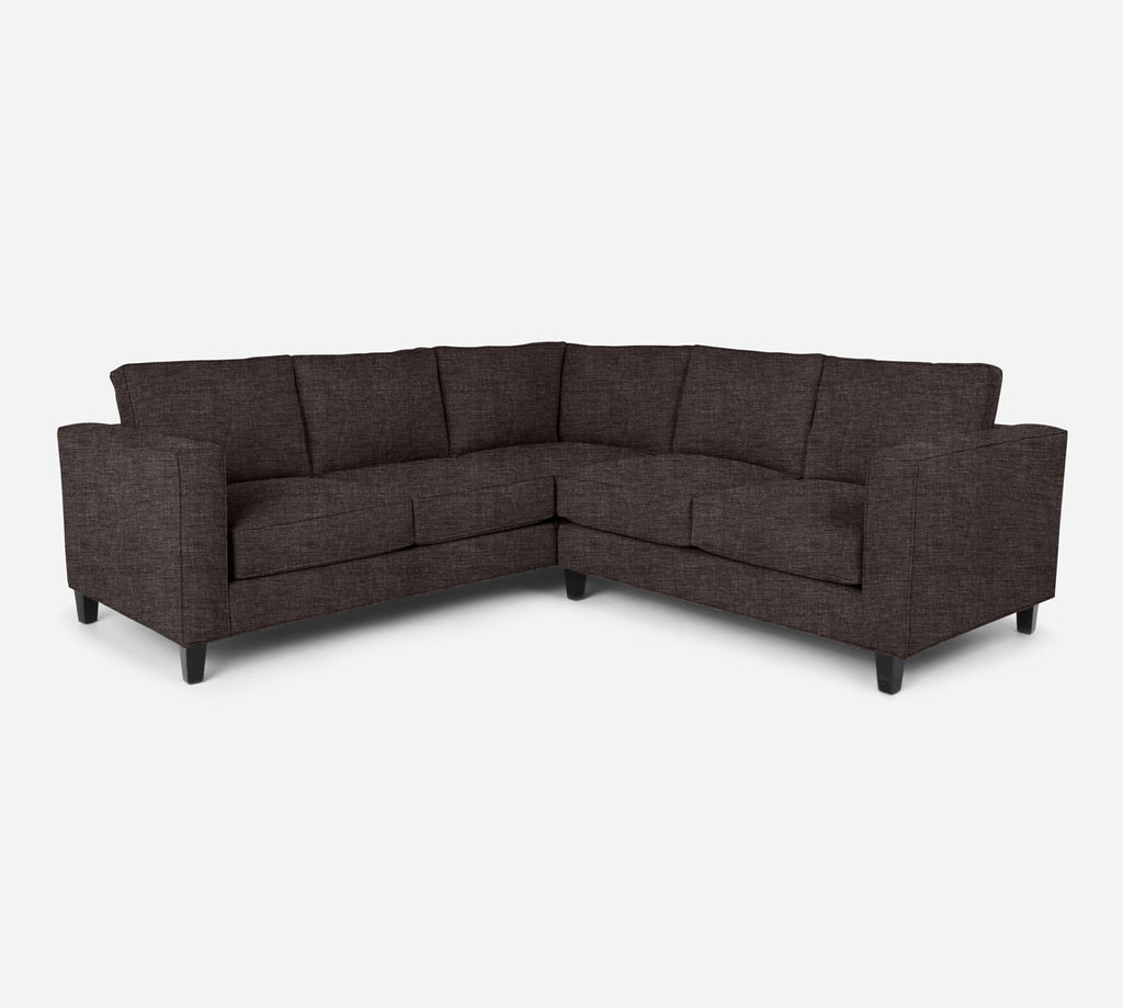 Remy RAF Corner Sectional - Key Largo - Mocha