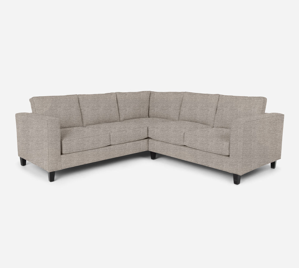 Remy RAF Corner Sectional - Stardust - Oatmeal