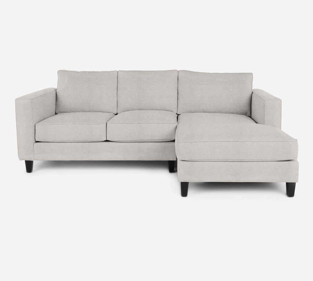 Remy Sectional Apartment Sofa w/ RAF Chaise - Heritage - Ivory