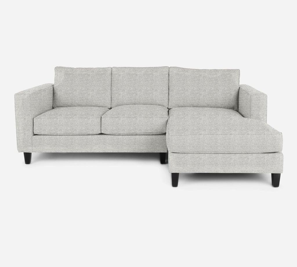 Remy Sectional Apartment Sofa w/ RAF Chaise - Stardust - Ivory
