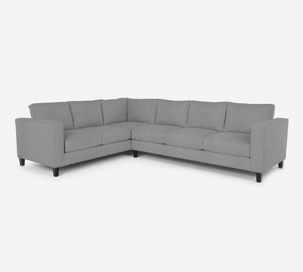 Remy RAF Large Corner Sectional - Coastal - Ash