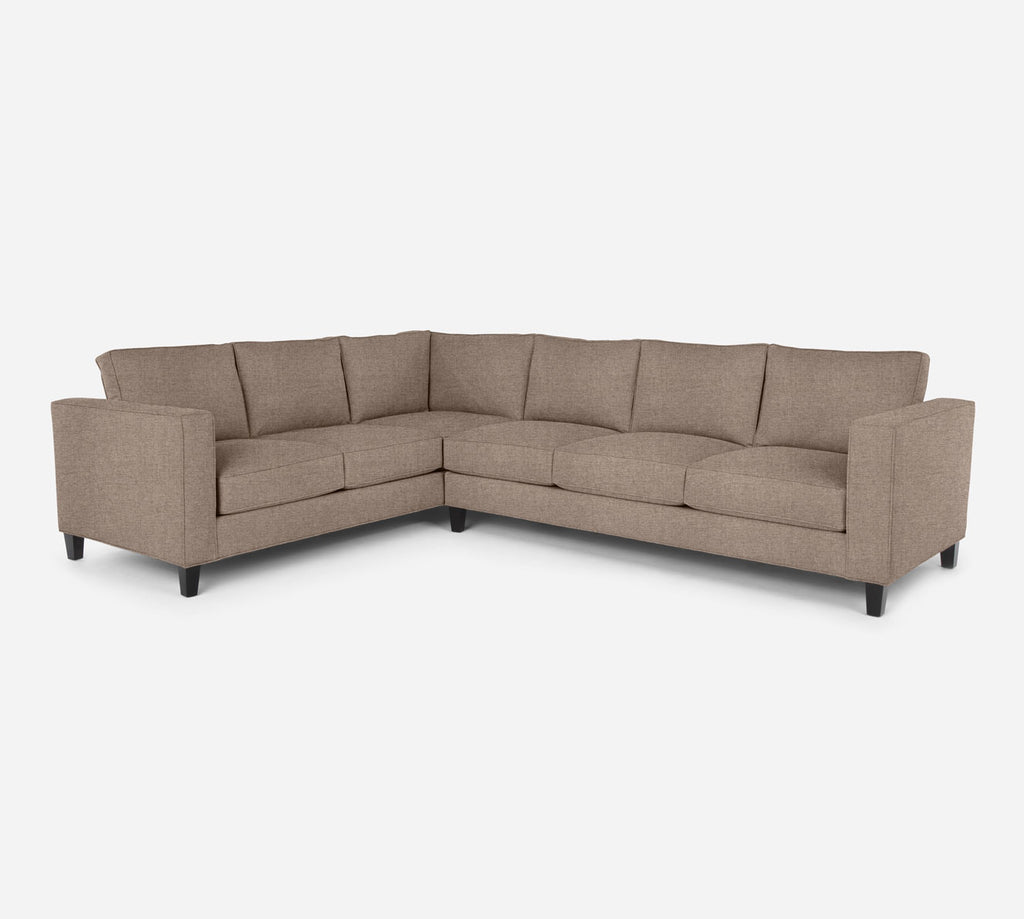 Remy RAF Large Corner Sectional - Coastal - Cashew