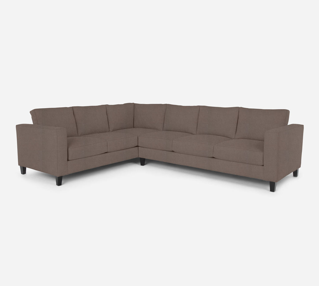 Remy RAF Large Corner Sectional - Heritage - Pebble