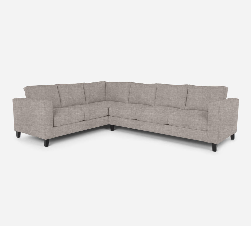 Remy RAF Large Corner Sectional - Key Largo - Almond