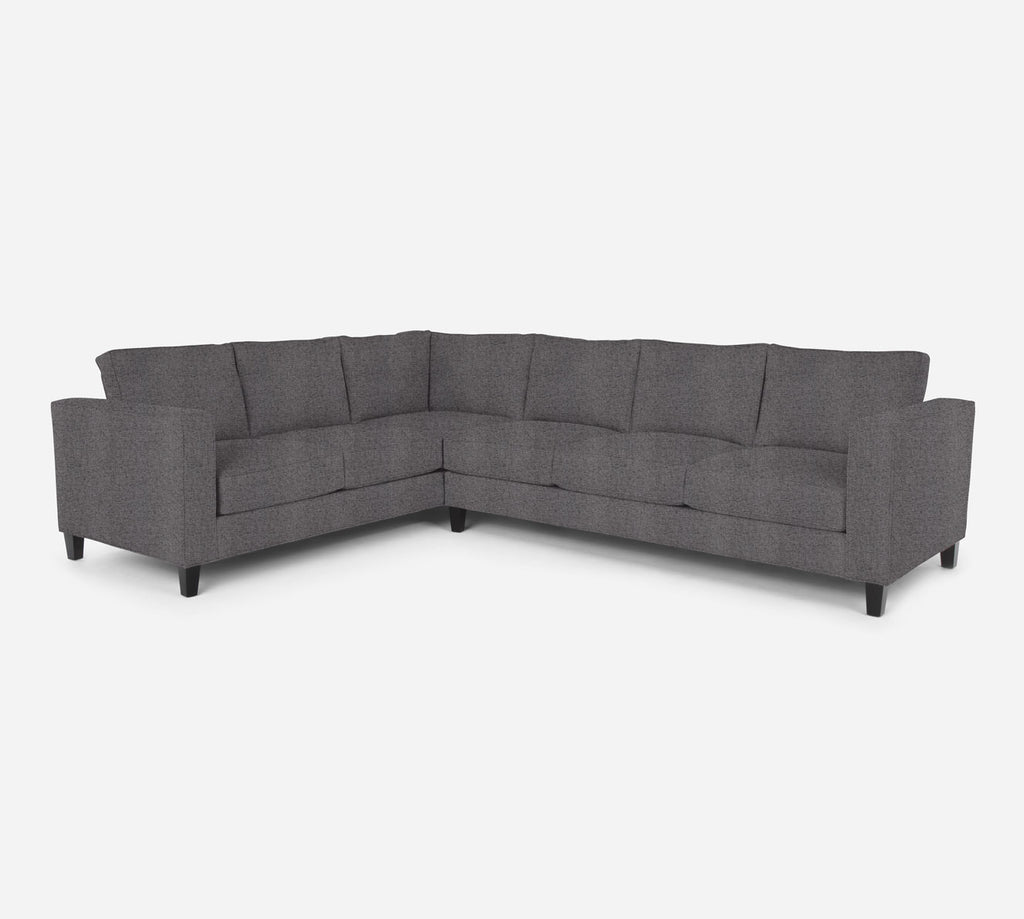 Remy RAF Large Corner Sectional - Theron - Concrete