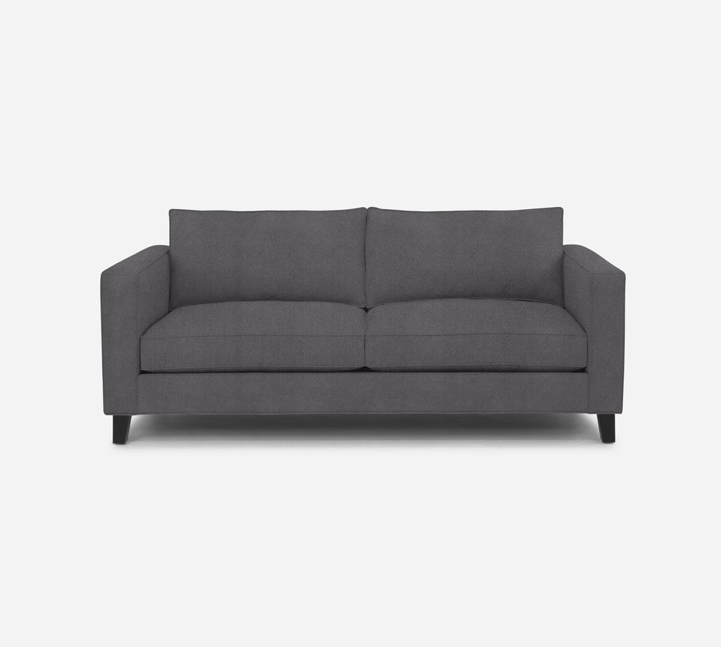 Remy 2 Seat Sofa - Passion Suede - Charcoal