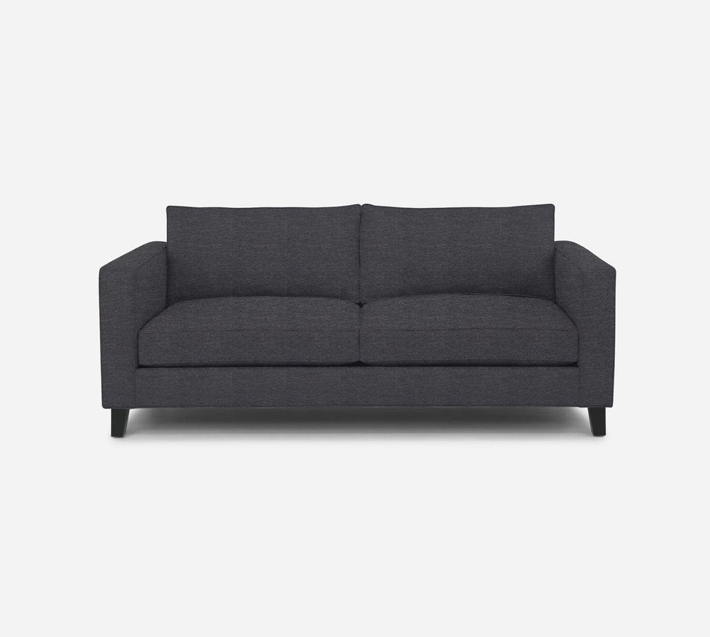 Remy 2 Seat Sofa - Stardust - Charcoal