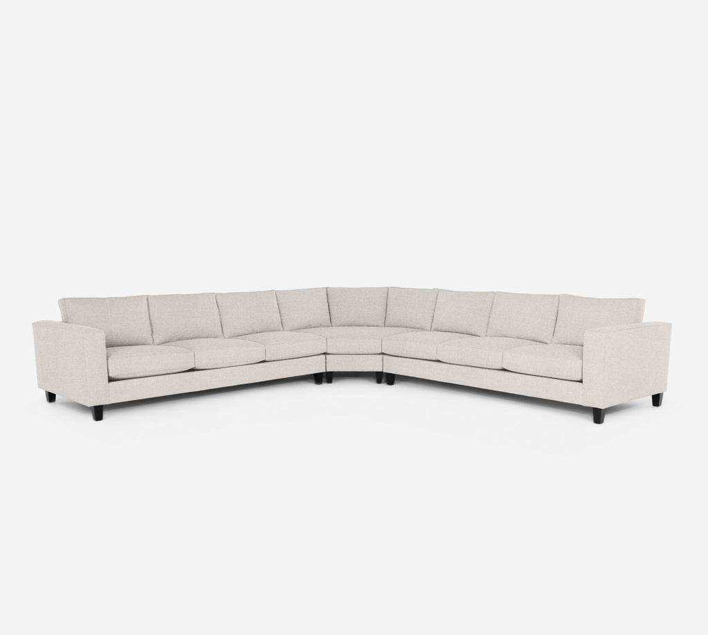 Remy Large Wedge Sectional - Coastal - Sand