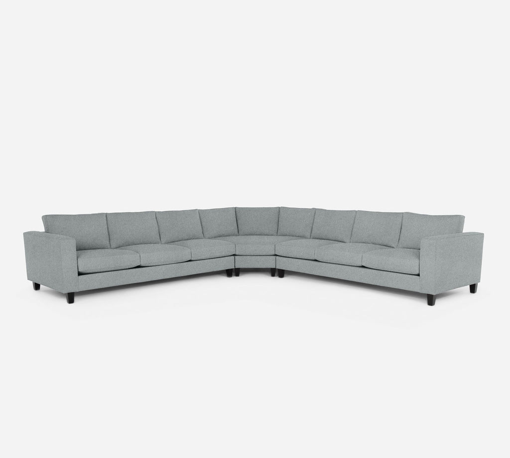 Remy Large Wedge Sectional - Dawson - Capri