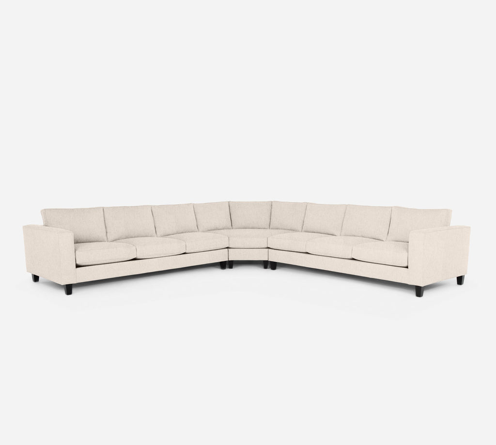 Remy Large Wedge Sectional - Kenley - Canvas