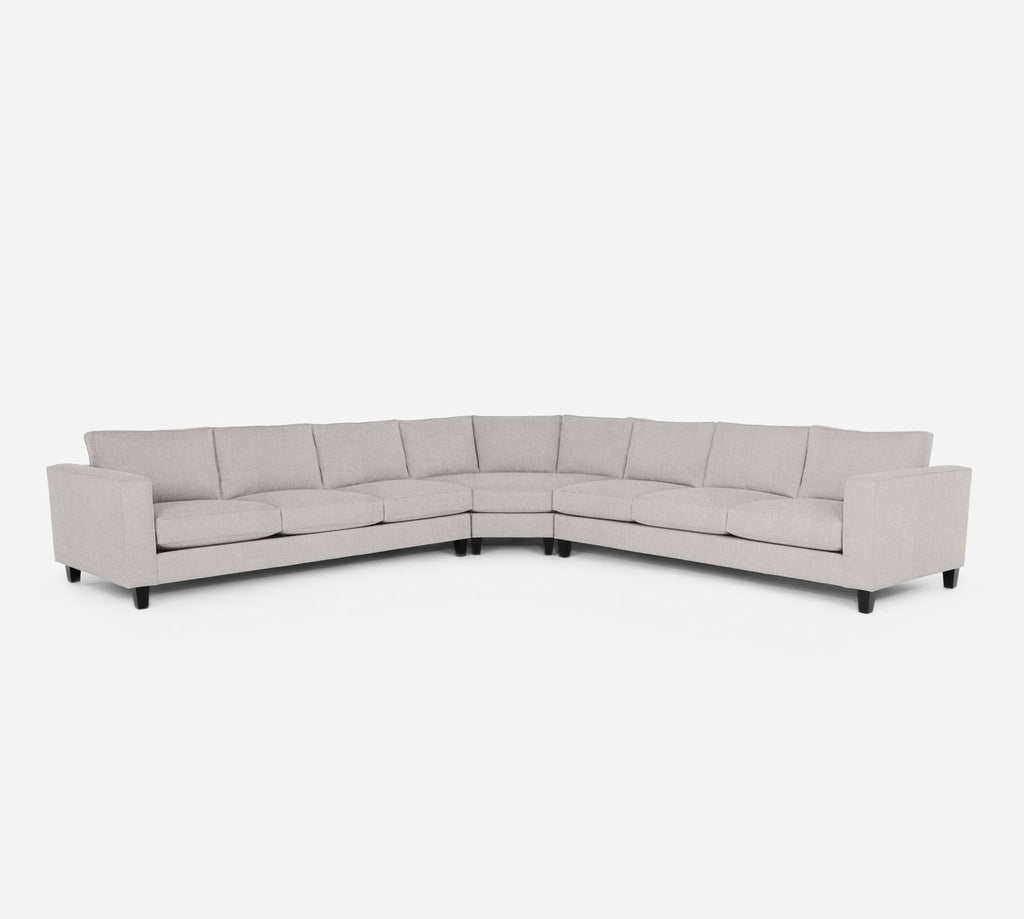 Remy Large Wedge Sectional - Kenley - Moondust