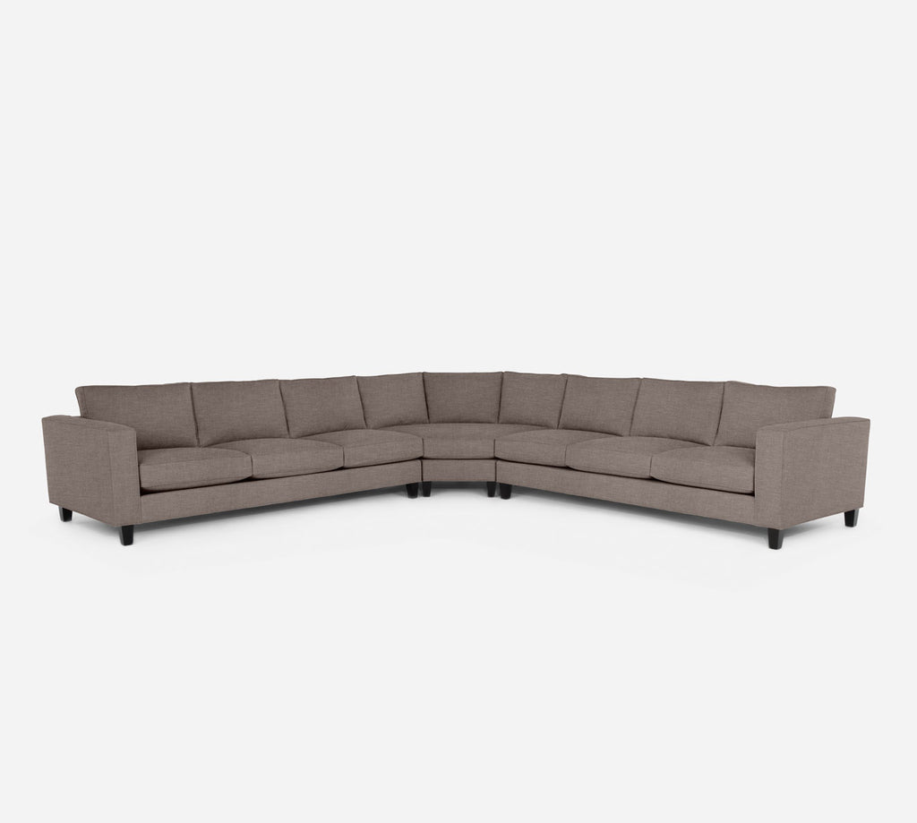 Remy Large Wedge Sectional - Key Largo - Pumice