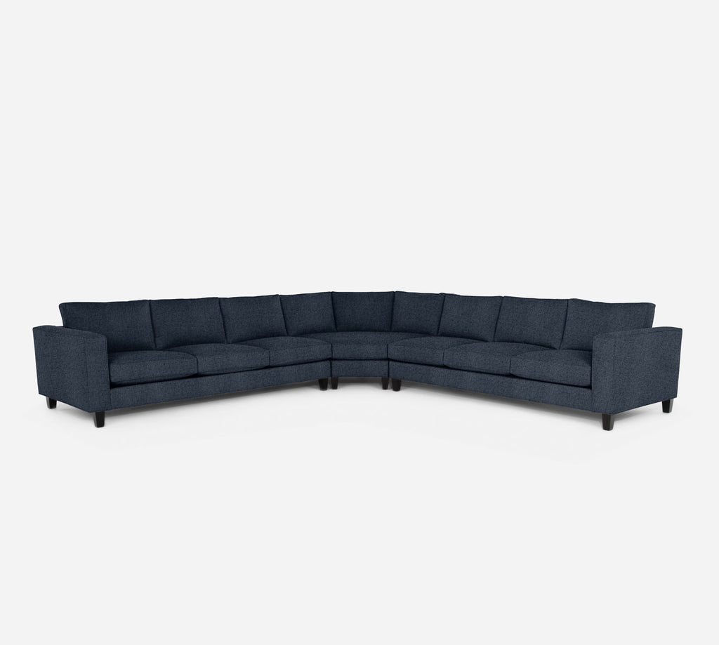Remy Large Wedge Sectional - Theron - Baltic
