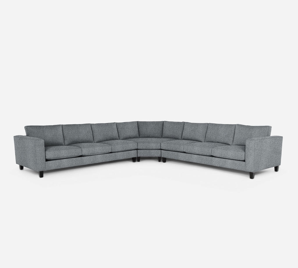 Remy Large Wedge Sectional - Theron - Haze