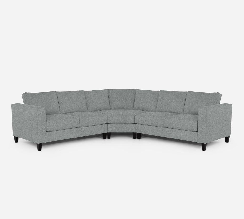 Remy Wedge Sectional - Dawson - Capri